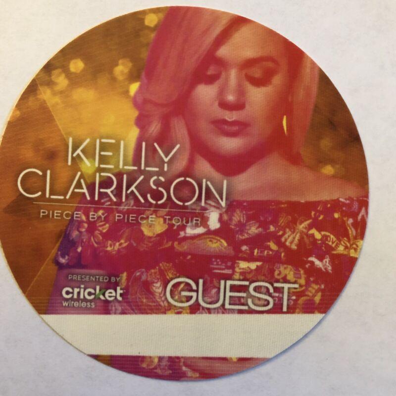 Kelly Clarkson Piece By Piece Tour Guest Backstage Pass Pop ORANGE
