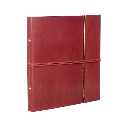 Fair Trade Handmade Plain Large Leather Photo Album 2nd Quality