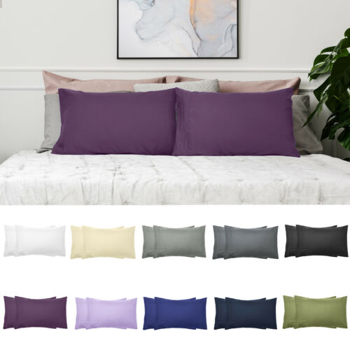 1800 SERIES PILLOWCASES - 2 Pillow Cases Per Set. King Size