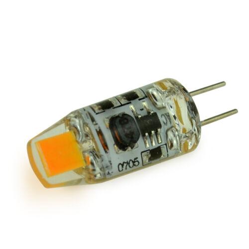 Dimmbare COB Leuchtet 10/50x G4 LED Lampen 1.5W 3W Silikon Crystal LED  Lampe 12V