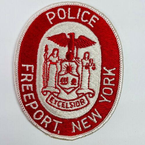 Freeport Police New York NY Patch (A5)