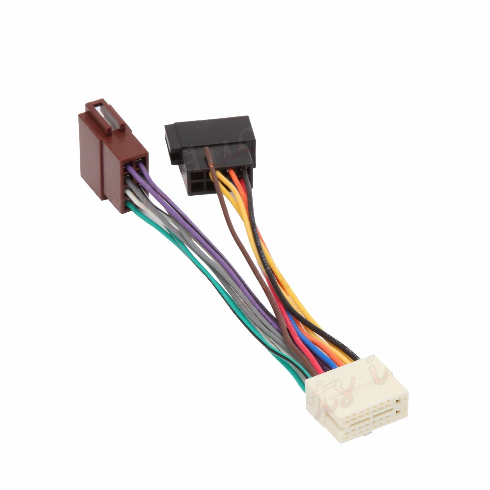 Harness Wire Clarion Rdx555d Wiring Diagram Libraries Nx604 Wires 16 Pin Car Stereo Radio Ebay Wiringclarion