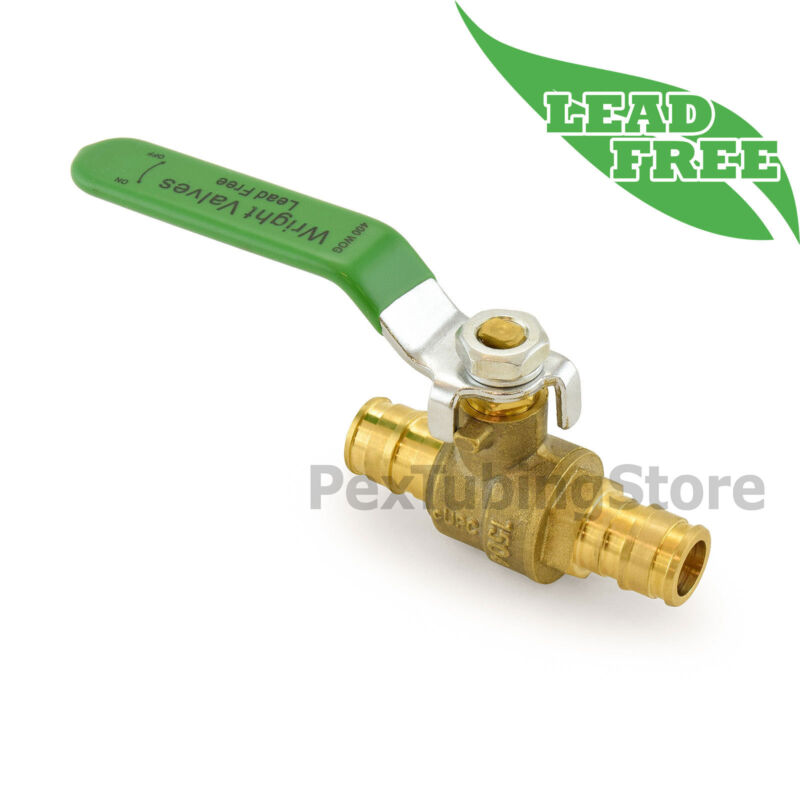 """(10) 1/2"""" ProPEX Style (Expansion) Lead-Free Brass Ball Valves for PEX-A (F1960)"""