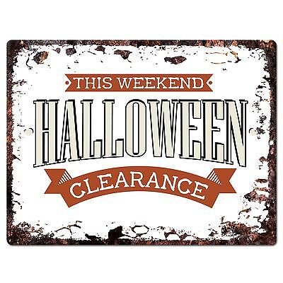 PP1902 HALLOWEEN CLEARANCE Plate Chic Sign Home Store - Clearance Halloween Dekoration