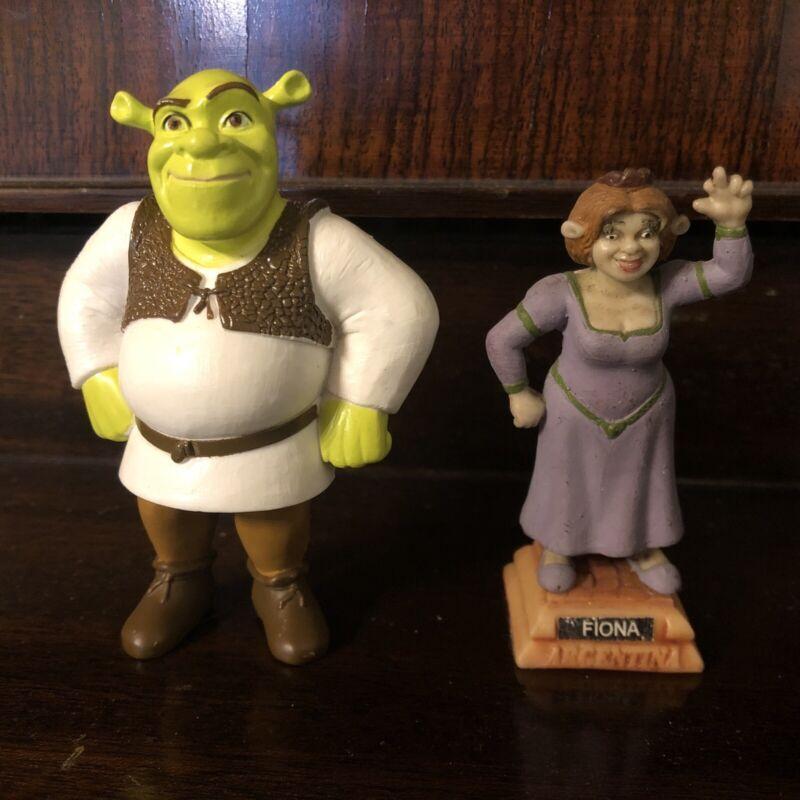 Shrek and Fiona Resin Figurines
