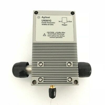 Keysight Agilent U9391g Comb Generator 10 Mhz To 67 Ghz  U9391g  B94