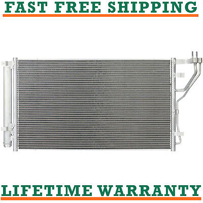 A/C AC Condenser For 17-18 Kia Fits Optima 2.4l L4 Free Shipping
