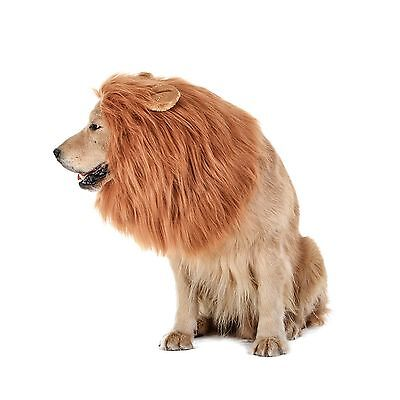 TOMSENN Dog Lion Mane - Realistic & Funny Lion Mane for Dogs - Complementary NEW