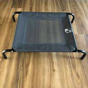 Small Raised Pet Dog Bed Indoor Outdoor 80/60x56cm