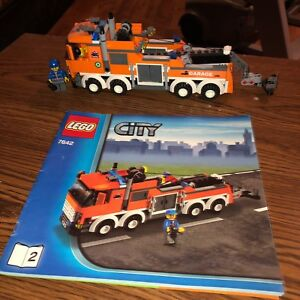 Lego City Large Tow Truck with Truck & Car Set 4628 EUC