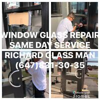 RESIDENTIAL AND COMMERCIAL GLASS REPAIR (647)8313035