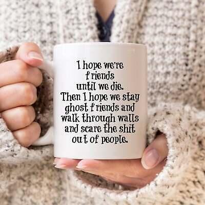 Ghost Friends Mug Gift For Best Friend Funny Friend Coffee Mugs Soul Sister
