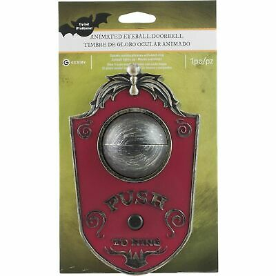Haunted Doorbell Halloween (Haunted House Animated Eyeball Doorbell Halloween Prop and Decoration Scary)