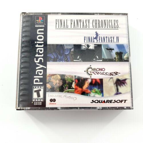 Final Fantasy Chronicles: Final Fantasy IV & Chrono Trigger (PS1)Tested