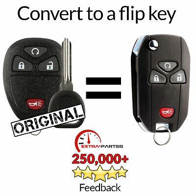 For 2009 2010 2011 2012 2013 Chevrolet Silverado Keyless Remote Fob Flip Key