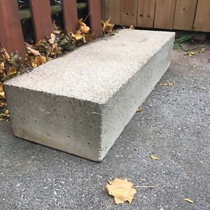 Cement steps