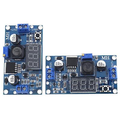 Lm2596s Dc Dc Step Down Buck Converter Led Display Voltmeter Adjustable Adapter