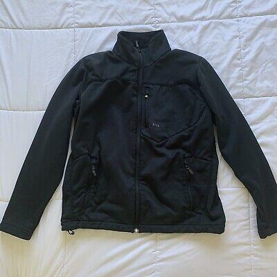 Helly Hansen Jacket Mens Medium Zip Up Sweatshirt Fleece Lined EUC