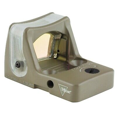 Trijicon RMR Sight (LED) CK FDE 9.0 MOA Green Dot No Mount - RM05-C-700210