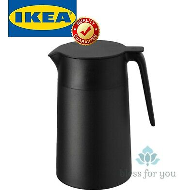 IKEA UNDERLATTA Vacuum Flask Black 41 oz