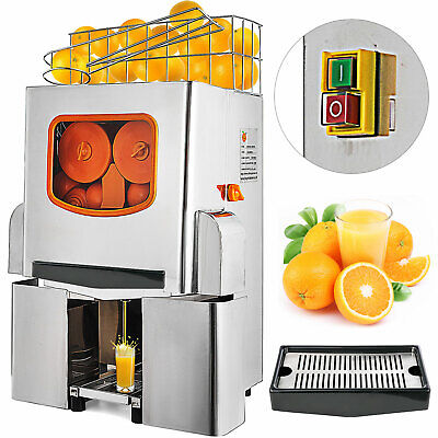 Vevor Commercial Electric Orange Squeezer Juice Fruit Maker Juicer Press Machine
