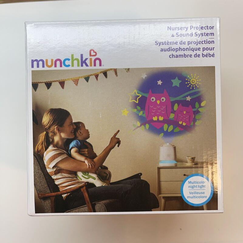 *BRAND NEW* Munchkin Sound Asleep Nursery Projector, Nightlight, & Sound Machine