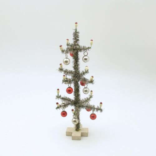 Miniature Christmas Tree Candles