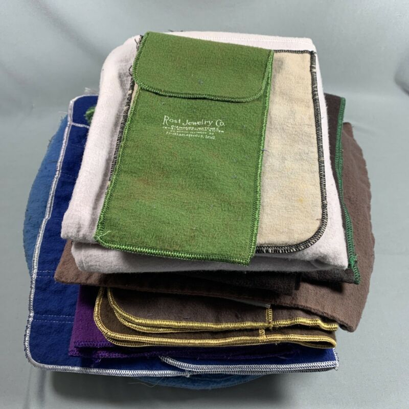 LOT 20 Vtg Anti Tarnish Storage Bags Clothes Sterling Silver