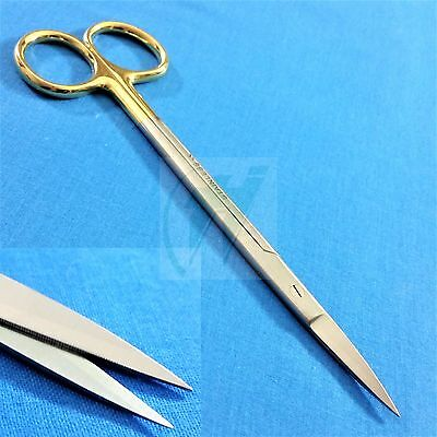 Tc Supercut Iris Gum Dental Scissors Straight 6.25 With One Serrated Blade