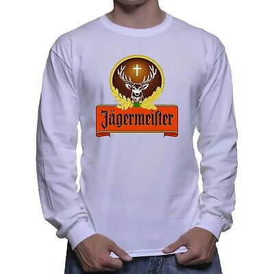 Jagermeister Jager Train Jager Bomb Shot Long Sleeve White T-shirt Size S To 5XL Bomb Long Sleeve T-shirt