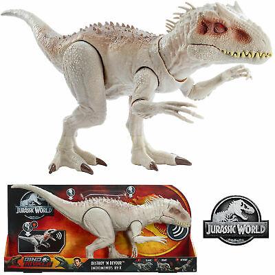 Mattel Jurassic World Dino Rivals DESTROY N DEVOUR INDOMINUS REX T-REX TOY