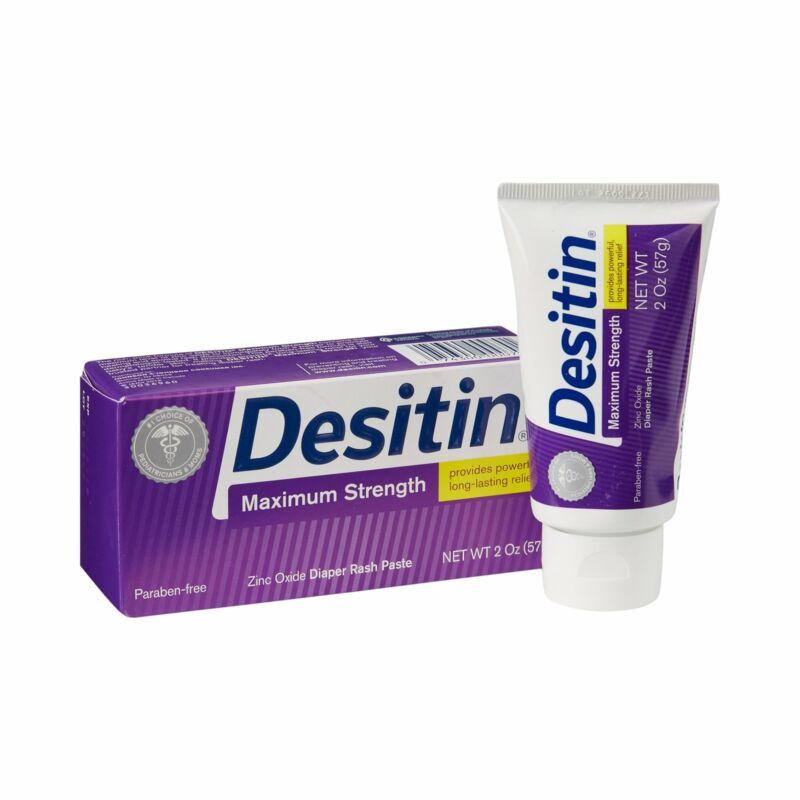 Desitin Diaper Rash Treatment 2 oz. Tube Zinc Oxide 10074300000708 1 Ct