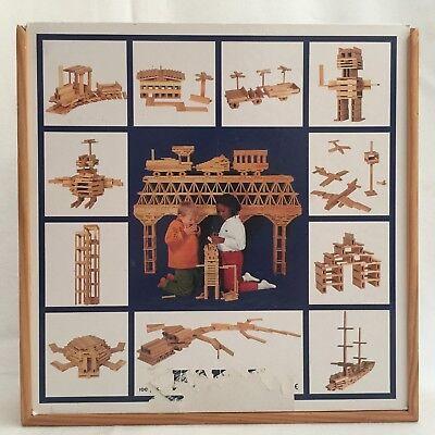 Kapla Building Blocks - Kapla Wooden Building Blocks Morocco 98 Pieces
