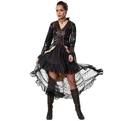 Kostüm Damen Steampunk Rebellin Gothic viktorianisch Retro Fasching Karneval