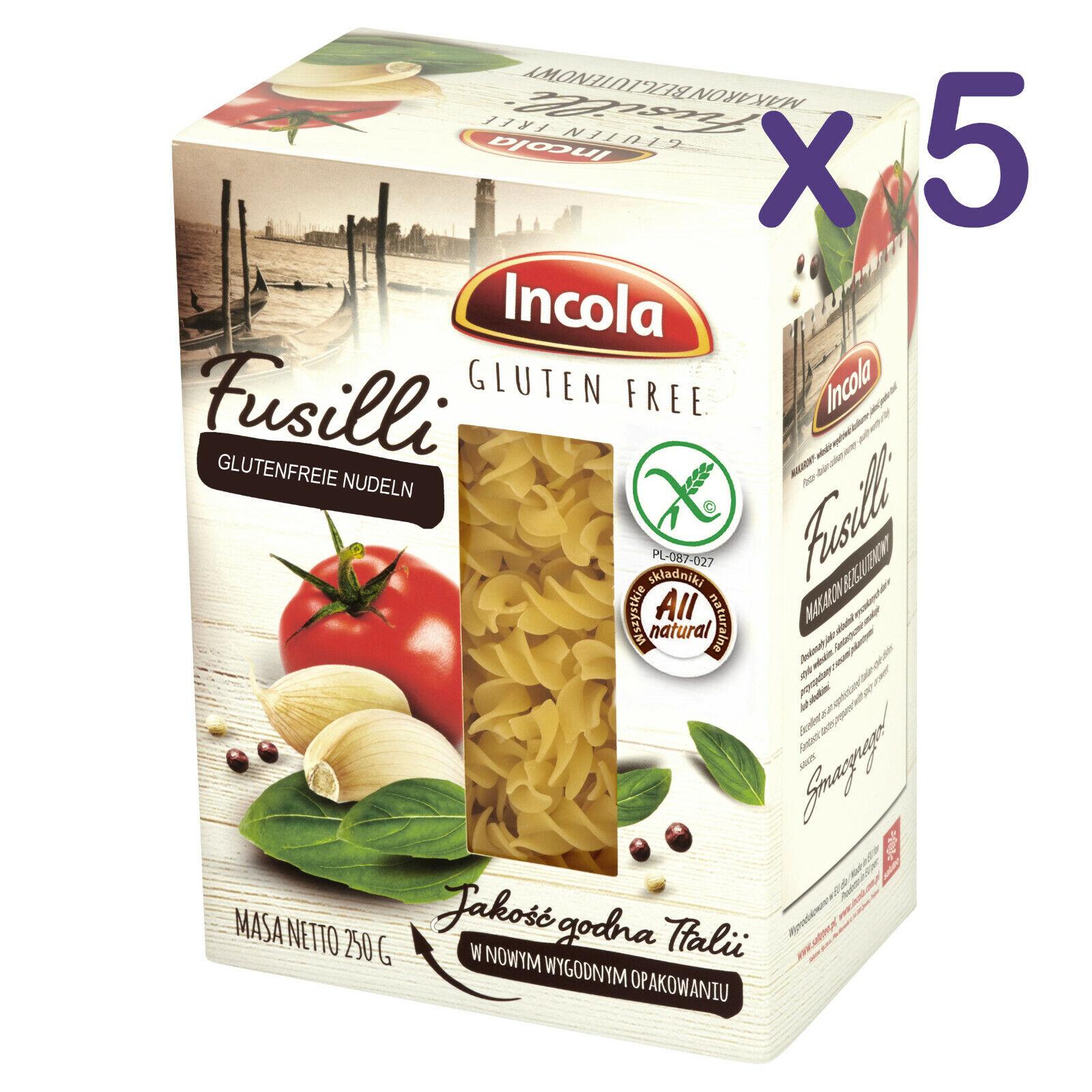 (11,92€/kg) GLUTENFREI Nudeln FUSILLI 1,25kg glutenfreie Pasta Laktosenfrei