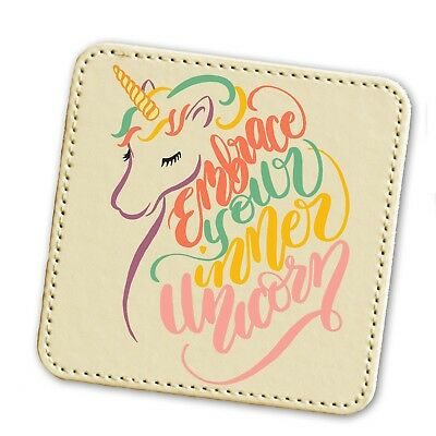 UNICORN THEMED GIFTS IDEAS MAGICAL MYTHICAL GIRL BIRTHDAY CHRISTMAS COASTER (Themed Ideas)