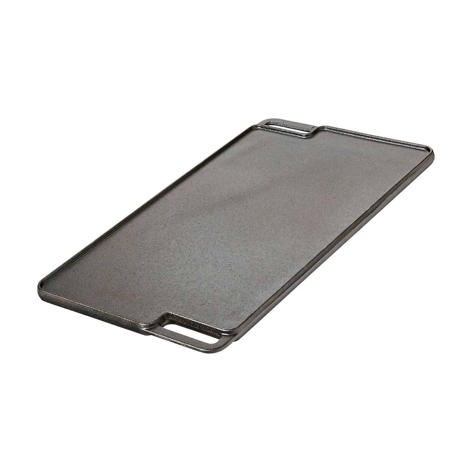 Reversible Grill and Griddle Pan Cast Iron for Electric Gas