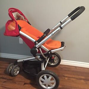 Quinny Buzz Stroller with Bassinet.