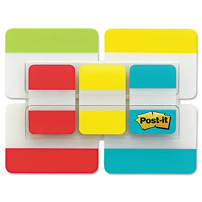 Post-it Tabs Value Pack Asst Primary Colors 1 And 2 Sizes 114-tabspack