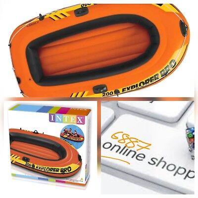 Intex Explorer Pro Boat 200, Orange Unisex 196 x 102 x 33 cm NEW IN BOX