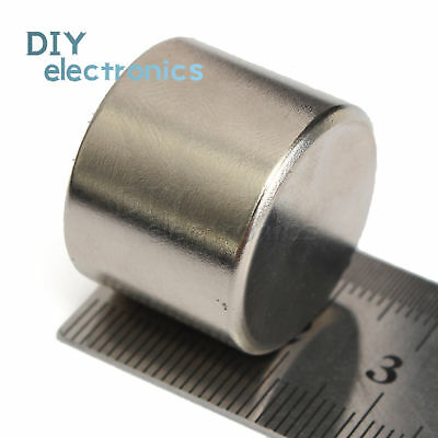 Sale N52 Super Strong Round Cylinder Magnet 25 X 20mm Rare Earth Neodymium Us