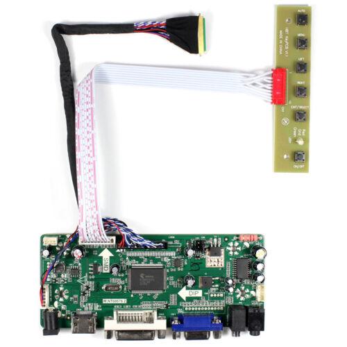 "HD MI DVI VGA Audio LCD Controller Board For 17.3"" LP173WF1 1920X1080 LCD"