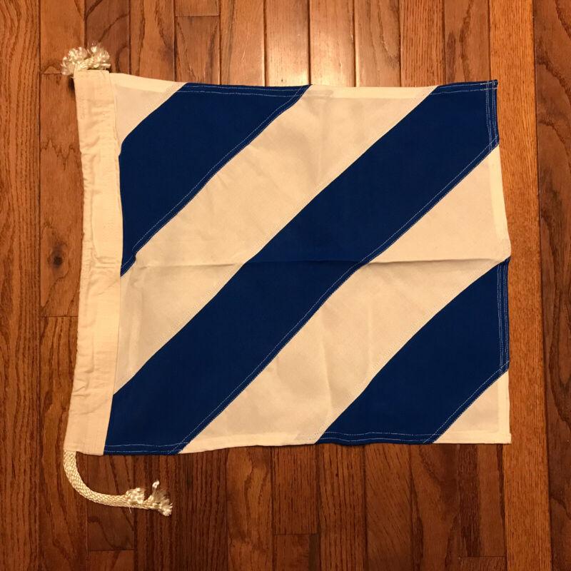 Signal Flag Numeral 6 Maritime Nautical Size Small (W1)