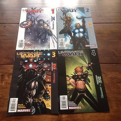 Ultimate War complete series #1-4 Marvel 2003