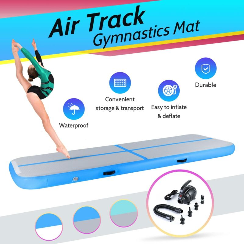 Inflatable Tumbling Mat Air Floor Air Track Training Board w