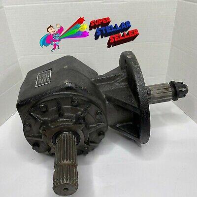 75prc71146 Hd Rotary Cutter Gearbox 1-34 X 20 Spline 2 X 15 Spline 11.46