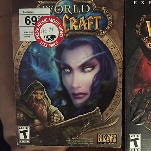 World of war craft and 3 expansion packs