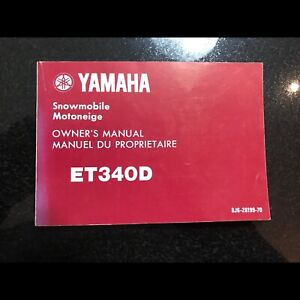 Yamaha ET 340D Owners manual