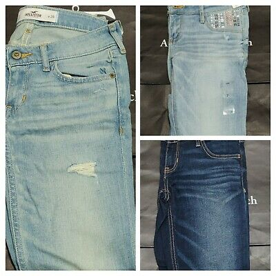 New Hollister By Abercrombie Women's Super Skinny Jean