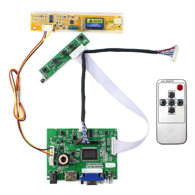 Audio VGA AV HD MI LCD Controller Board For 12.1 in LP121X04 C2K2 1024x768 LCD